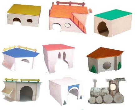 Zoolandia gryzonie domy