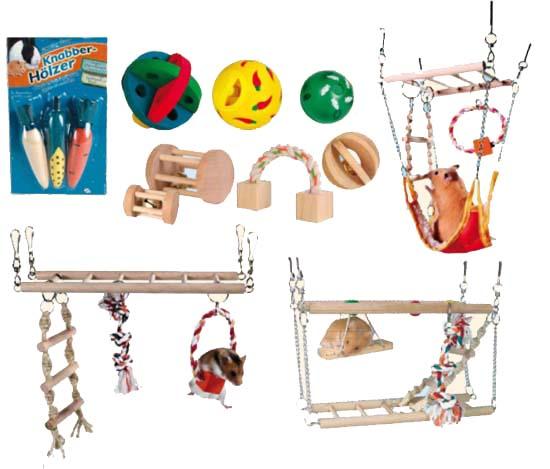 Zoolandia gryzonie zabawki